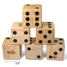 Load image into Gallery viewer, Wooden Dice (It's Dicey!)