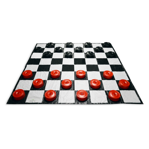 Checkers (with 10' x 10' Mat)