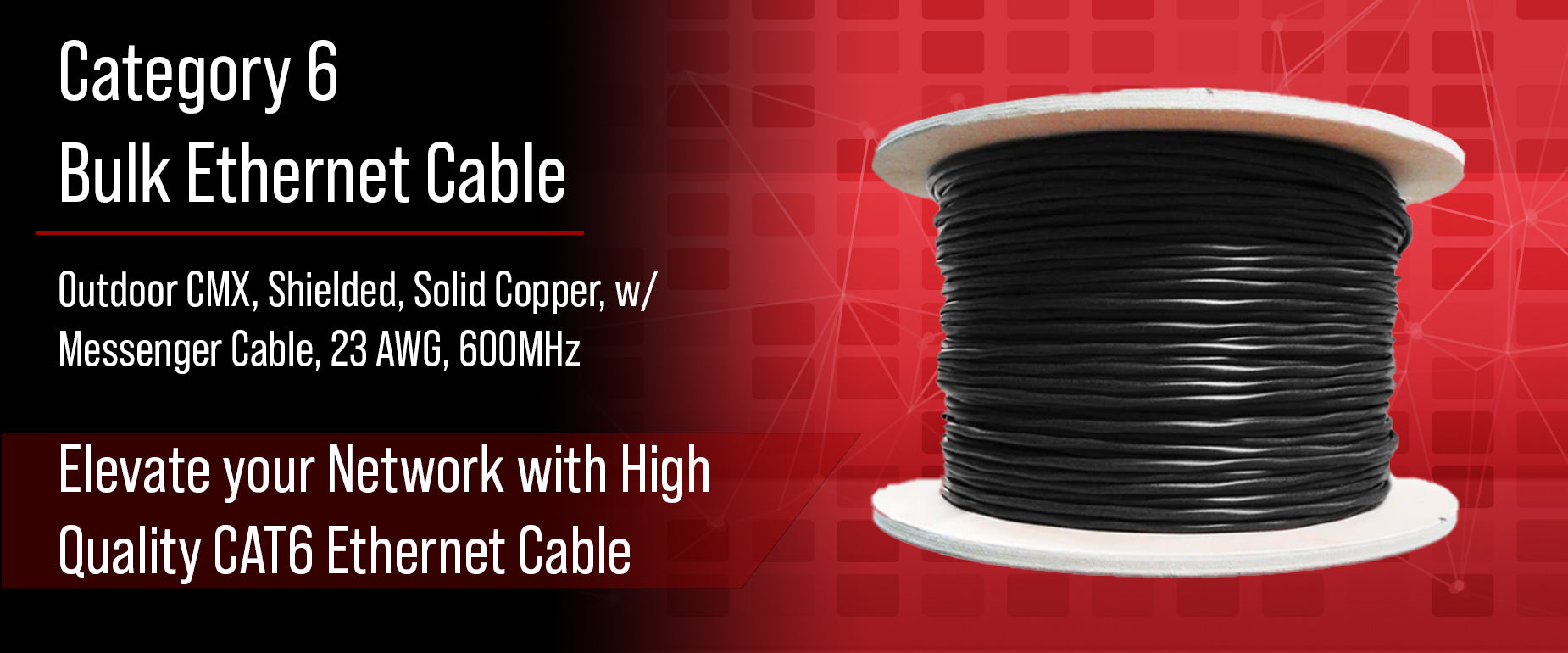 CAT6 Shielded Aerial Cable