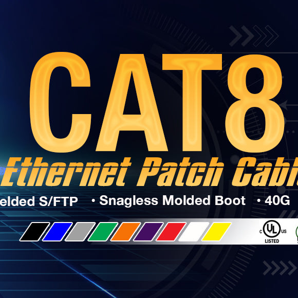 cat8 ethernet patch cable