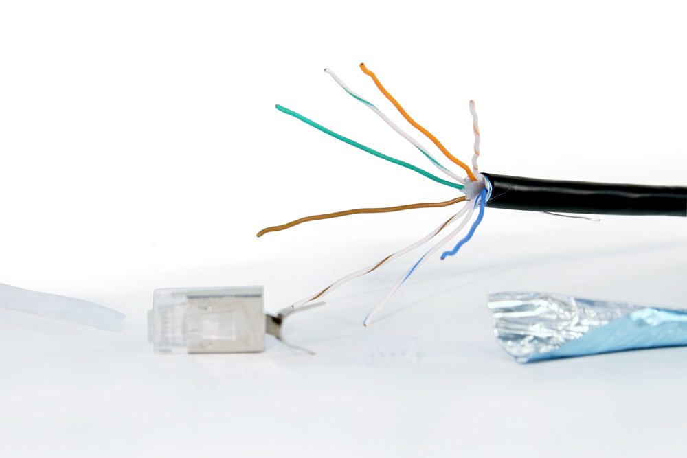 Align cable inner conductors