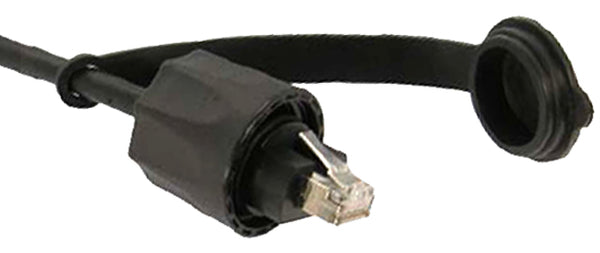 CAT6 Shielded Ethernet Patch Cable, Outdoor Industrial, RJ45 - RJ45