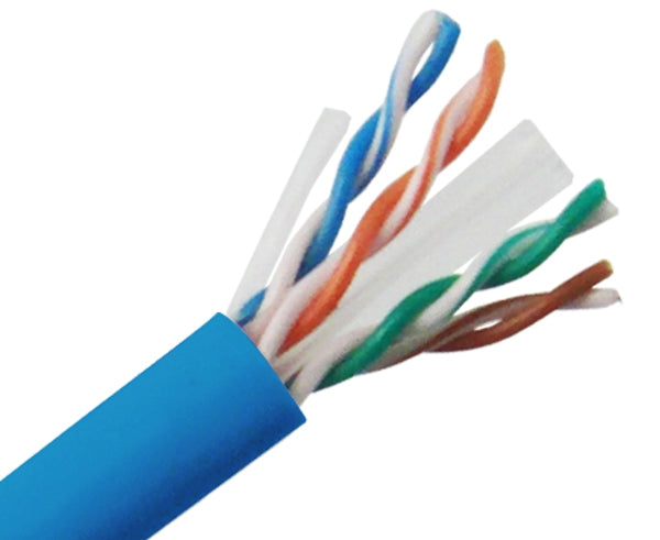 CAT6 UTP Bulk Ethernet Cable, Solid Copper CM, 23 AWG 1000FT