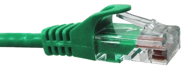CAT5E, 6, 6A Ethernet Patch Cable, Snagless Molded Boot, RJ45 - RJ45