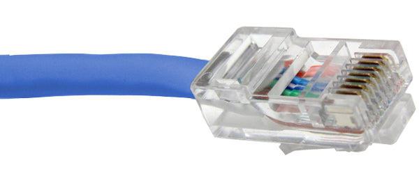 CAT5E Ethernet Patch Cable, Non-Booted, RJ45 - RJ45