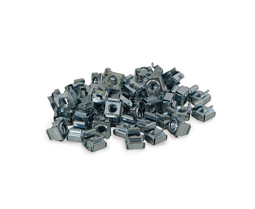 Network Rack, M5 Cage Nuts, 50 Pack