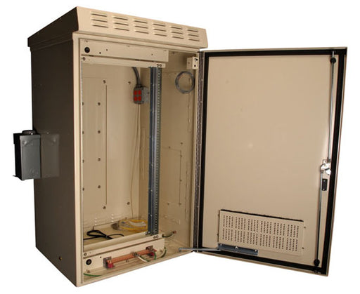 21RU Environmentally Controlled Backhaul Network Cabinet, Wall Mount