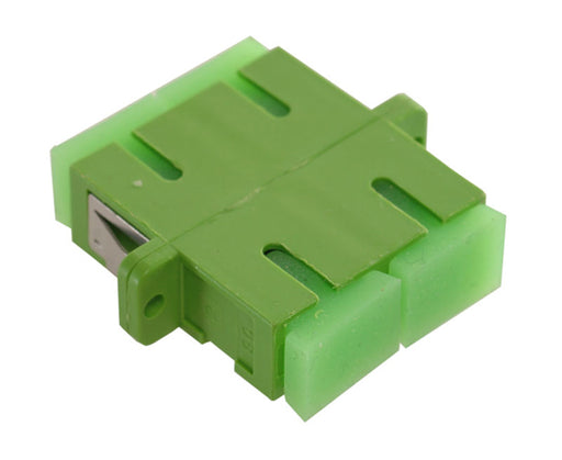 SC/APC Duplex Single Mode Fiber Adapter/Coupler