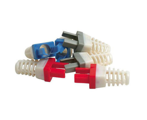 Strain Relief for Cat6 Connector - Blue