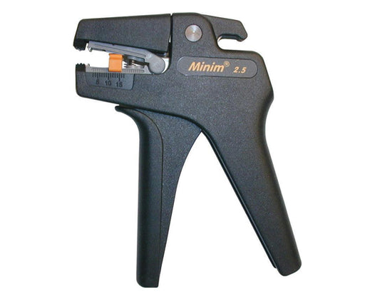 Minum 2.5 Self Adjusting Wire Stripper, 30-13 AWG