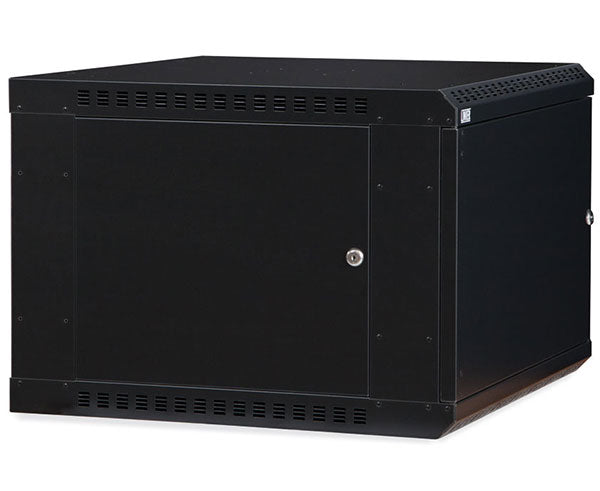 Network Rack, Fixed Wall Mount Enclosure, Solid Door 2 of 6