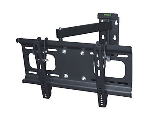 "LED, LCD & Plasma Flat TV Mount Bracket, 32"" to 55"", Tilt & Swivel, 22.6"" Arm, Full Motion, Black"