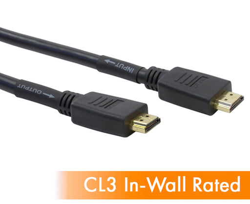 HDMI Male to HDMI Male, CL3 with Amplifier