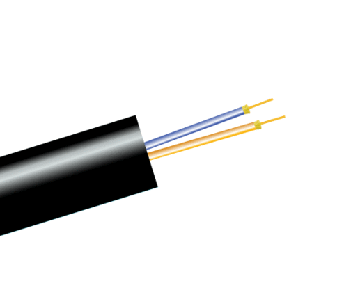 Military Polyurethane Fiber Optic Cable, Single Mode, Outdoor Tactical Breakout