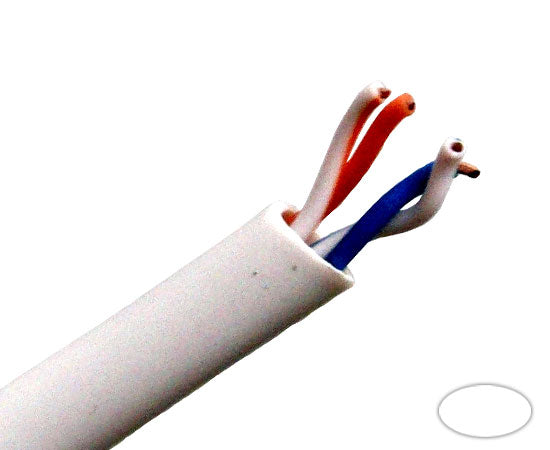 cat3 bulk cable, utp pvc solid 24awg, 1000', 2 pair, white for the cat 5 cable rj45 jack wiring diagram cat 3 cable wiring #6