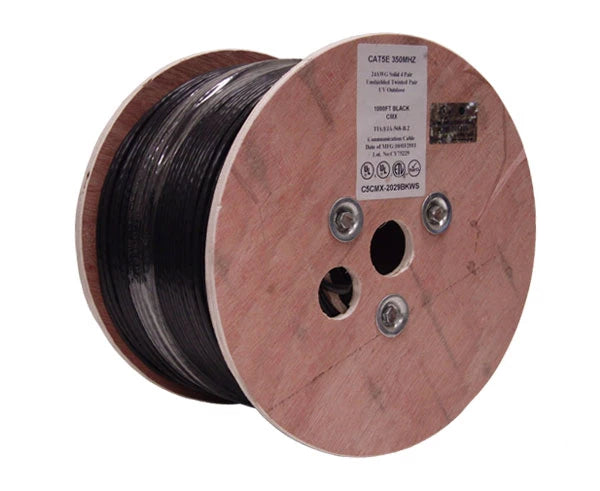 CAT5E Ethernet Cable, Outdoor CAT5E Cable - Spool