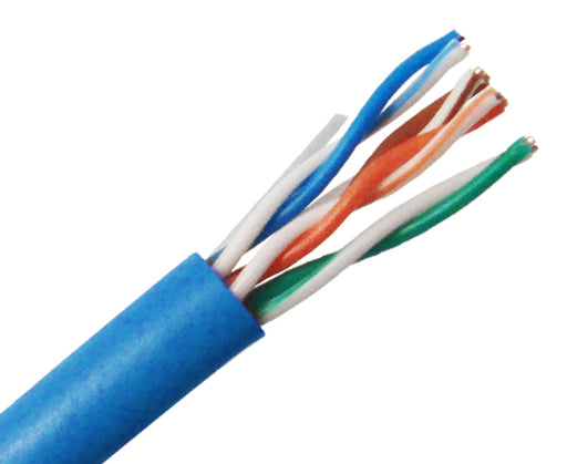 CAT5E Ethernet Cable, CAT5E UTP Cable, CM Rated, 500™ - Blue