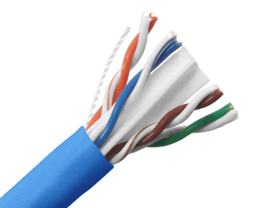 CAT6A Ethernet Cable Shielded 10G 23AWG FTP Ethernet Network 1000ft 3085BL