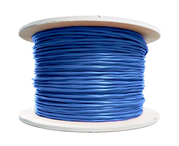 CAT6A Shielded Bulk Ethernet Cable, UV resistant Indoor/Outdoor 23AWG Solid Copper Conductors, 1000FT