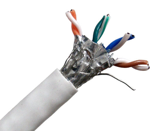 Primus Cable CAT6 Bulk Riser Ethernet Cable 23 AWG 1000FT CMR UL Listed Solid Copper UTP Grey