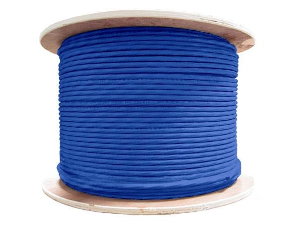 CAT6 Bulk Stranded Ethernet Cable, Shielded Bare Copper CM, 24 AWG 1000FT