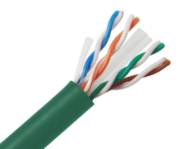 CAT6 Bulk Riser Ethernet Cable, CMR UL Listed Solid Copper UTP, 24 AWG 1000FT