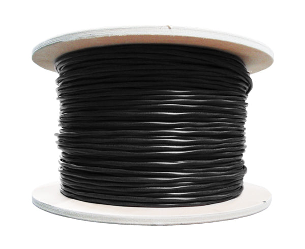 CAT7 Bulk Ethernet Cable, 10G Indoor/Outdoor Dual Shielded Solid Copper S/FTP, 23 AWG 1000FT