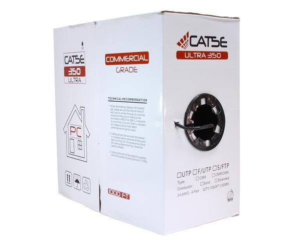 CAT5E Ethernet Cable, Outdoor CAT5E Cable - 1000 FT