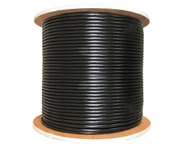 RG6 Quad Shield Direct Burial Coaxial Cable for Outdoor Applications
