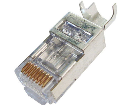 EZ-RJ45 Cat6+ Connector For Round Solid / Stranded Cable