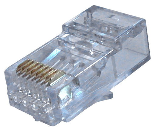 "ezEX™48 RJ45™ CAT6 Connectors for .043""- .048"" Conductors"