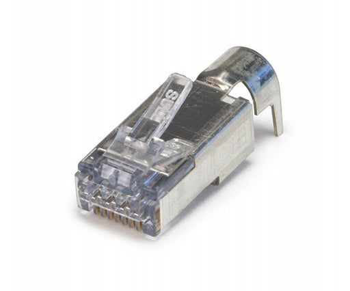 ezEX™44 RJ45™ Shielded CAT6/6A Connector, External Ground