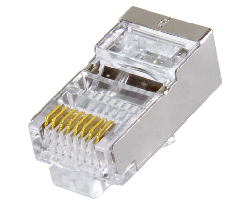 CAT6 Shielded Easy Feed RJ45 Modular Plugs