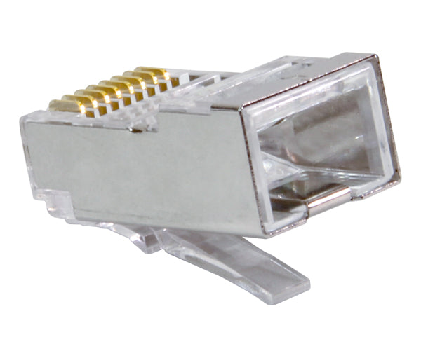 Shielded CAT6 Easy Feed RJ45 Connector