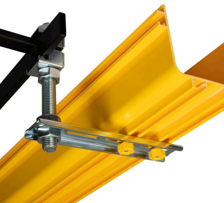 Cable Tray to Ladder Support Bracket - Fiber Tray Support