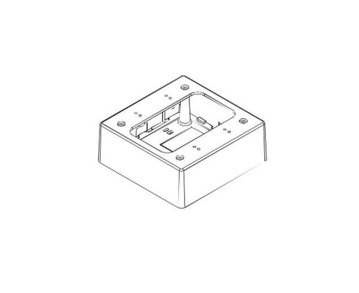 "E-Z Duct Junction Box (For EZ-75), W -5"" x H -5"" x D -2"", White"