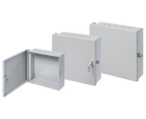 Security Enclosure Boxes, Indoor/Outdoor Heavy-Duty UV Rated Non-Metallic NEMA 3R Rated