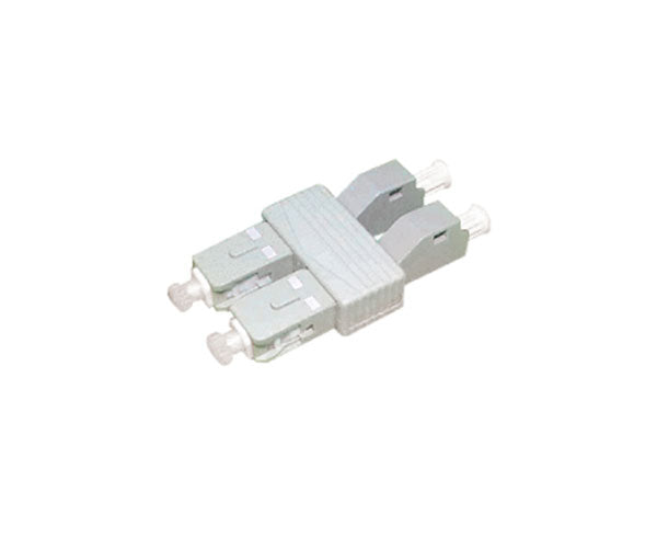 Fiber Tester Adapter, SC Male to LC Female, Duplex, Multimode 62.5/125 OM1