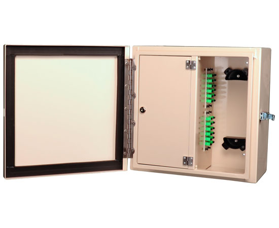 Wall Mount Fiber Patch Panel, NEMA 1 & 4 Rated, Up to 96 Ports