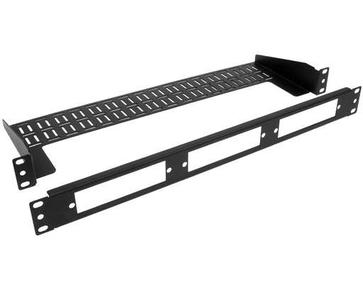 1U Rack Mount Fiber Patch Panel with cable support bracket