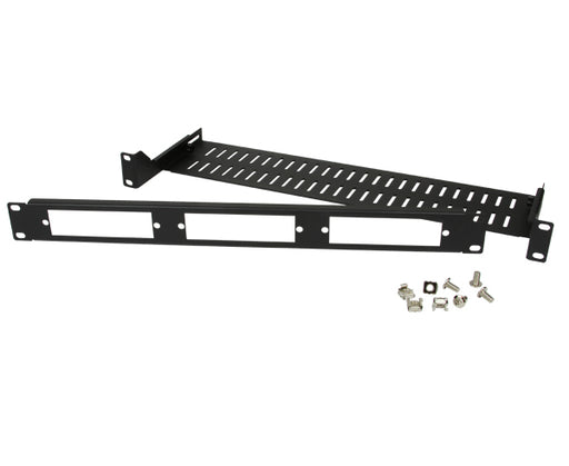 Adjustable Rack Mount LGX Fiber Patch Panel Housing with Rear Cable Support, 1U