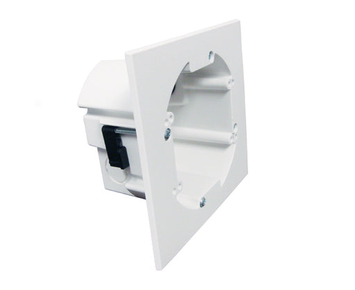 Dual Gang Round Drywall Mounting Bracket - Left