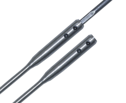 Flexible Drill Bit Extension With Dual Set Screws