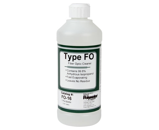 Alcohol Fiber Optic Cleaner Type FO