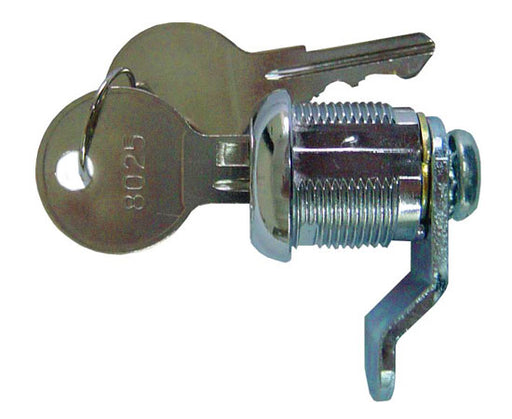 Cam-Lock with Keys, Bent Arm