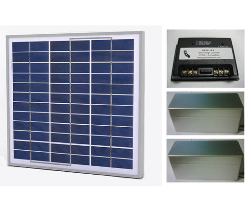 30 Watt Solar Power Kit, Lithium Ion