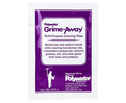 Grime Away Cleaning Wipes Foil Pouch