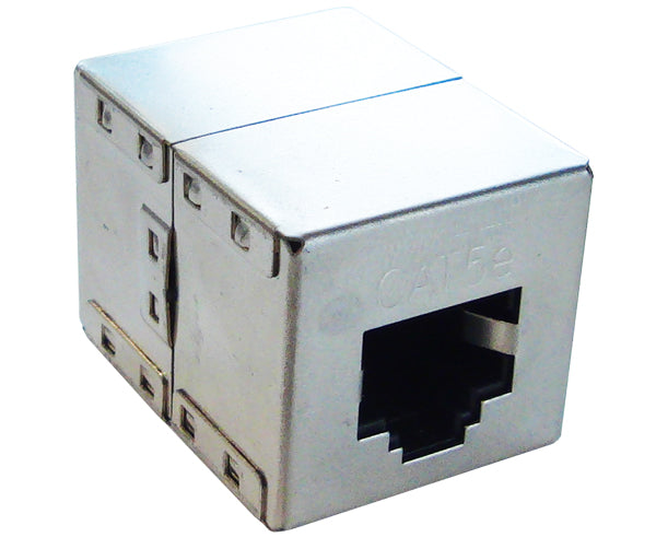 Shielded CAT5E RJ45 Inline Coupler