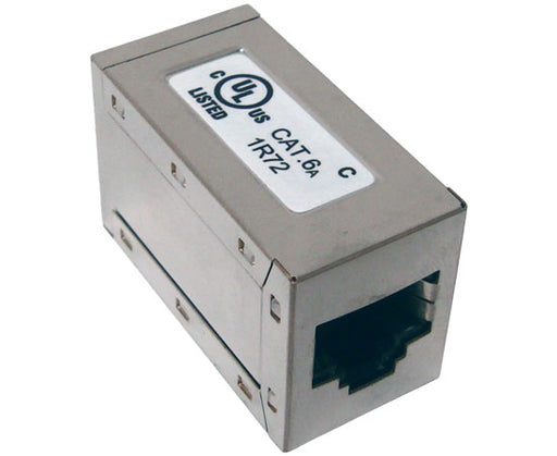 CAT 6A Full Shielded Inline Coupler