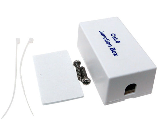 CAT6 Junction box - White